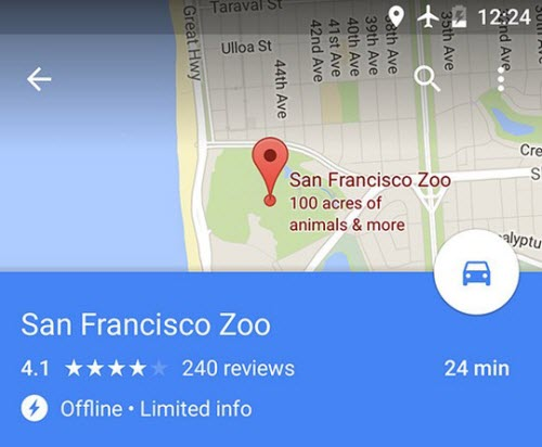 Dùng bản đồ Google không cần internet