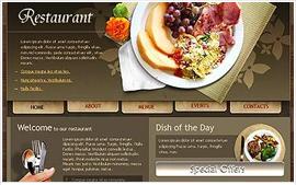 Thiết kế website Nhà hàng - Ẩm thực
