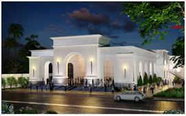 Thiết kế website cho trung tâm tiệc cưới