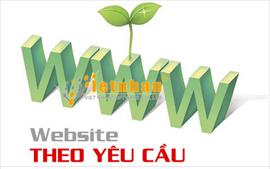 Thiết kế website theo yêu cầu riêng