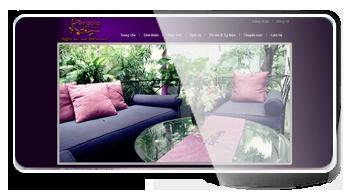 Thiết kế website Nhà Hàng Café Pergola
